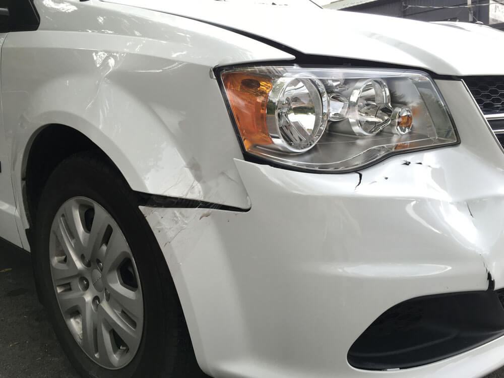 car before repair